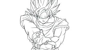 Dragon Ball Super Saiyan Coloring Pages Super Coloring Pages Dragon
