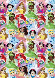Disney Patterns Adorable Disney Princesses Repeat Pattern By Sollydollycouture On DeviantArt