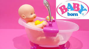 baby born doll lovely doll bath tub set water shower for kids worldwide you