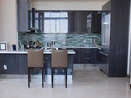 Black Kitchen Backsplash Black Kitchen Cabinets Traditional Dark Wood Black Espresso
