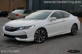 2016 honda accord coupe 2016 honda accord ex l coupe 1 owner 615
