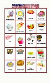 Food Flash Cards American Food Part 2 20 Flashcards Esl Worksheet By Ilona
