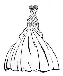 coloring pages girls clothes dress coloring pages wedding dress coloring pages color downloads all worksheets clothes colouring worksheets printable on wedding worksheets