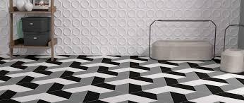 Tile By Design Trapezium Floor Floor Tiles By Wow
