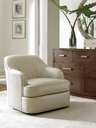 Leather Swivel Chairs For Living Room Laurel Canyon Alta Vista Leather Swivel Chair Lexington Home Brands