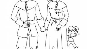 Small Picture Pilgrim Boys And Girls Coloring Pages Hellokids intended for