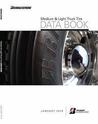 Bridgestone Medium And Light Truck Tire Data Book Sullivan