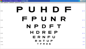 Snellen Chart Result Interpretation Functional Vision Assessment