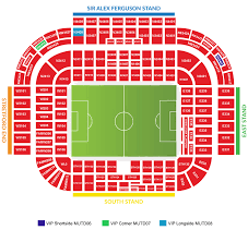 Uk Football Stadium Seating Chart Football Host Location And Access To Old Trafford