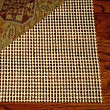 endorsed no slip rug pad grid non rubber for hardwood floors best entry hayneedle area rugs
