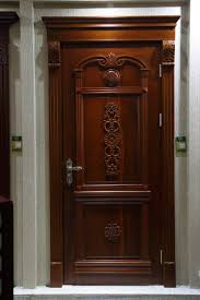 Solid Wood Front Door Designs Carving Sapele Solid Wood South Indian Main Front Door Home