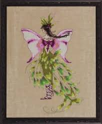 The Moss Collector Cross Stitch Chart