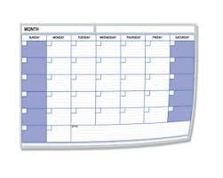 Details About A4 Monthly Month Planner Desk Chart Diary Any Month Year Choose Pack Size