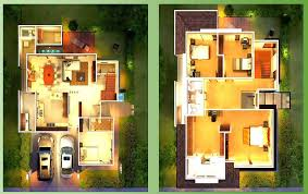 modern house designs and floor plans free