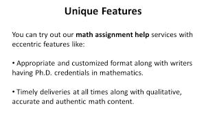 ppt math assignment help ppt math assignment help