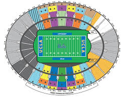 Cu Football Seating Chart Ucla Football Tweaks Visitor Fan Seating At The Rose Bowl