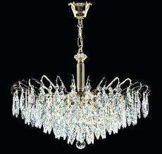 vienna full spectrum 18 wide crystal and chrome chandelier