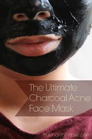 the ultimate homemade charcoal acne face mask
