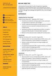 Simple, attractive and professional layout. Resume Examples That Ll Get You Hired In 2021 Resume Genius