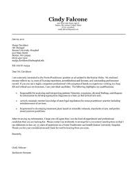 Nurse Practitioner Cover Letter Example Pinterest Cover Letter