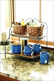 fruit basket kitchen counter storage solutions awesome inside idea countertop vegetable