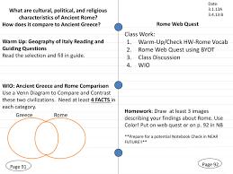 Venn Diagram Of Roman Republic And Roman Empire Rome Web Quest Jessicasimo