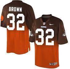 Browns Brown Nfl Cleveland Elite Jim Jersey orange Nike Men's Brown Fadeaway 32 cbbfcabeacebd|Patriots-Jets Monday Night Football Predictions