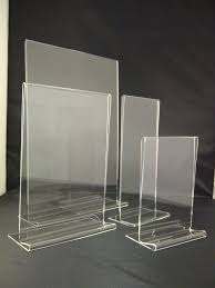 Plastic A4 Display Stands Delectable Plastic Acrylic Perspex Menu Holder Display Leaflet Flyer Stands A32
