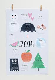 Small Picture 38 best 2017 Calendar 2016 Calendars images on Pinterest