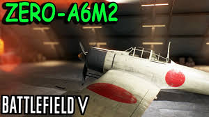 Battlefield V ZERO A6M2 leveling up to ...