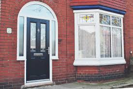Door Top Light A Beautiful Installation On A Period Property Featuring A