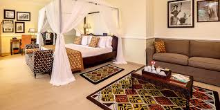 Spa Inspired Bedrooms Bedrooms Have Modern African Inspired Decor At Hideaway Of Nungwi