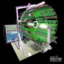 gi grow rotary hydroponics