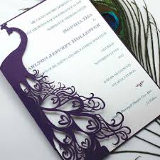 peacock invitations elegant peacock wedding invitations hd image pictures ideas by
