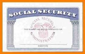 Security Card Template Blank Social Security Card Template Download Aesthetecurator Com