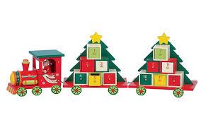 national railway musuem advent calendar train white