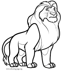 Small Picture Unique Lion Coloring Pages Cool Ideas 1144 Unknown Resolutions