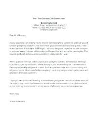 Example Of A Cover Letter For A Student Student Cover Letter