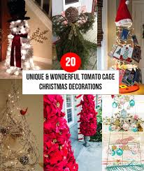 transform the humble tomato cage into a beautiful decorations for the holidays with a little bit of crafting the cage can turn into evergreen