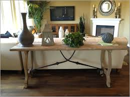 sofa table behind couch against wall. How To Decorate A Sofa Table Behind Couch Against Wall E