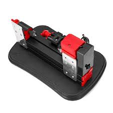mini motorized metal lathe machine diy tool woodworking for modelmaking gong bed