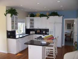 white painted kitchen cabinets before and after. Image Of: Painting And Staining Kitchen Cabinets White Before After Painted O