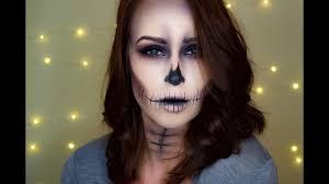 skeleton face makeup tutorial rutele