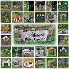 details about miniature fairy garden accessories ideas kits supplies ornaments indoor outdoor