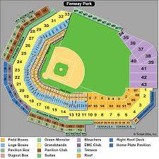 Jetblue Baseball Park Seating Chart Right Fenway Park Seating Chart Coca Cola Pavilion Boston