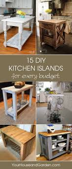 15 Gorgeous DIY Kitchen Islands For Every Budget | Diy kitchen ...