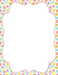 girly borders for microsoft word photos spring border for flyer drawing art gallery
