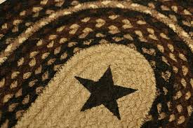 black star braided jute tablerunner by capitol earth rugs