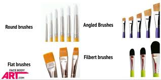 face painting beginners brushes