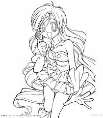 Small Picture Hanon mermaid melody coloring pages Hellokidscom